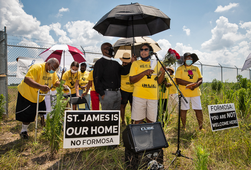 photo of 175 Groups Urge Banks Not to Fund Massive 'Cancer Alley' Chemical Plant in Louisiana image
