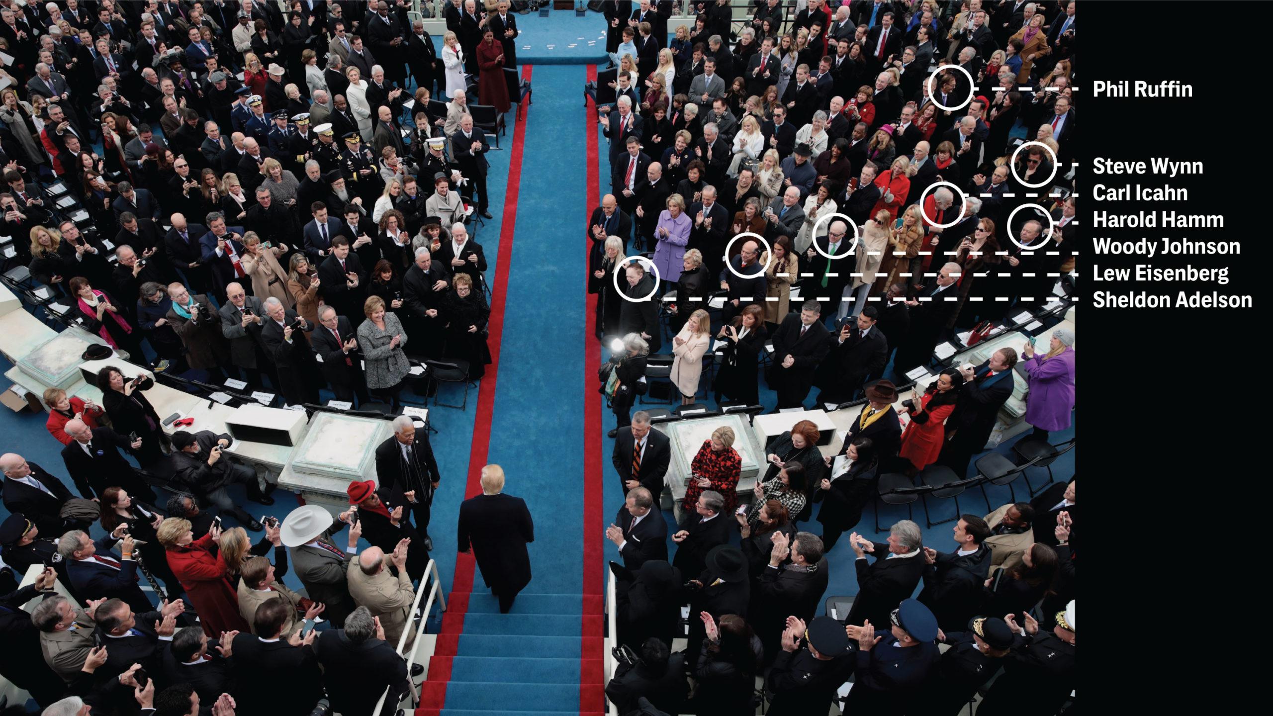 Trump Donors Inauguration