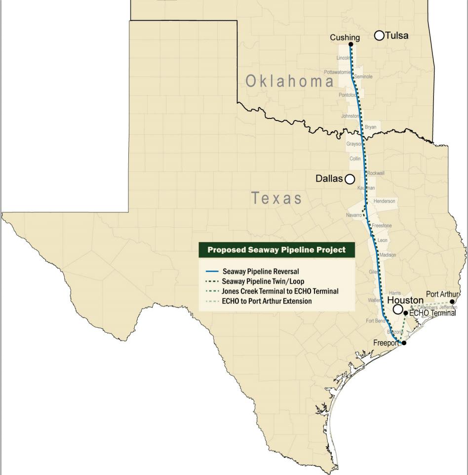 Seaway Twin Pipeline