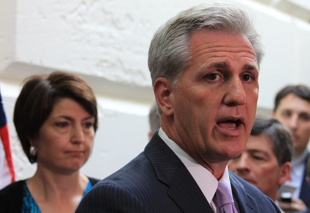 GOP House Minority Leader Rep. Kevin McCarthy