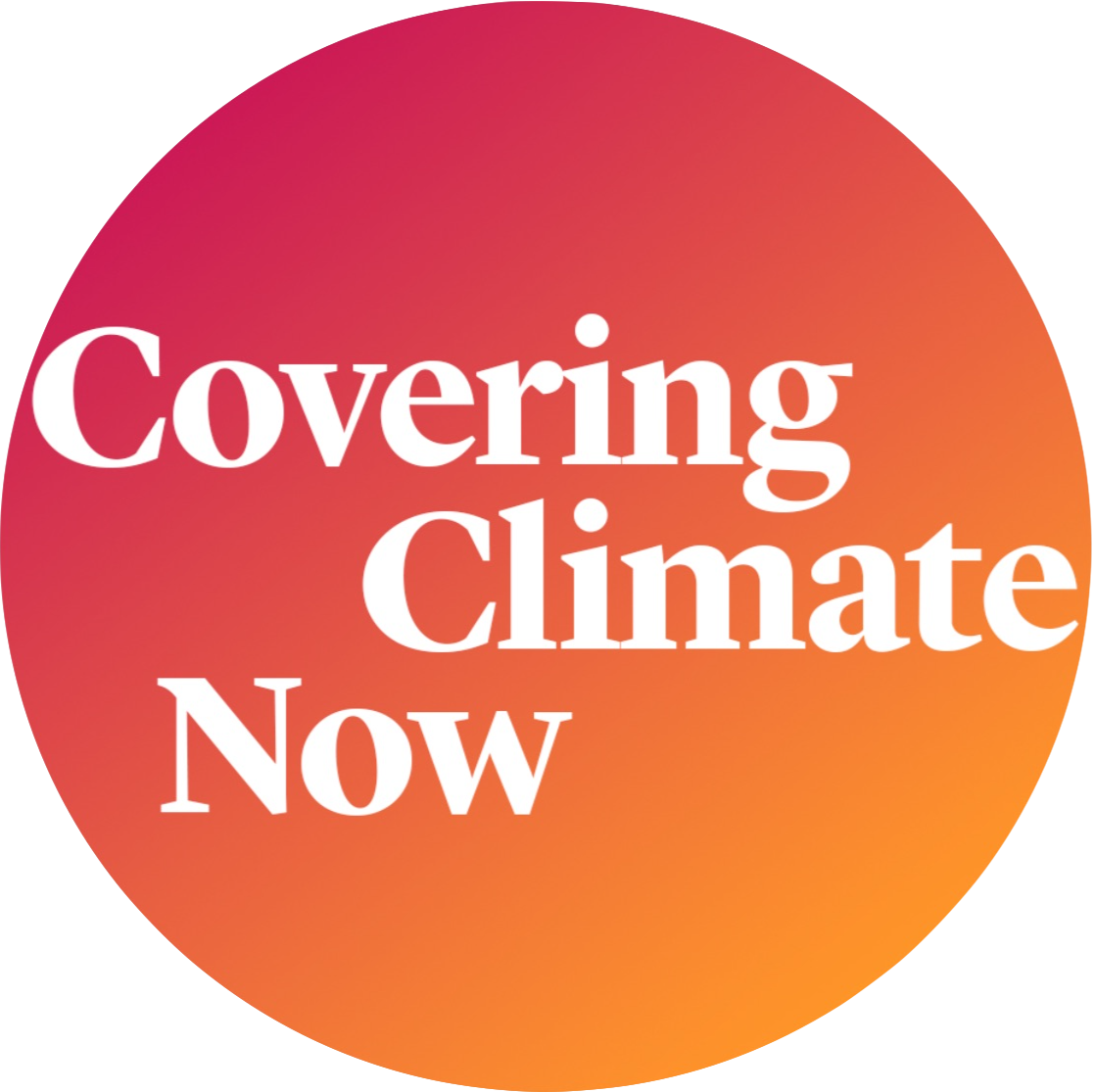 Covering Climate Now logo