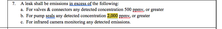 Original Massachusetts DEP pollution permit draft approval text with sections underlined.